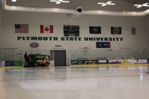 Plymouth State University arena ice3